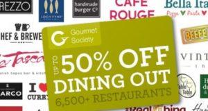 Free Gourment Society Card