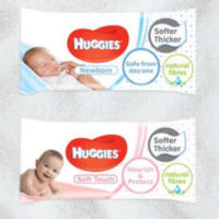 Pack Of Huggies Wipes
