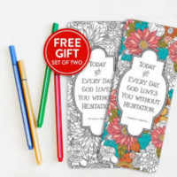 Coloring Bookmarks With Pencils