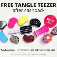 Free Tangle Teezer