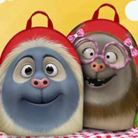 Alfie And Isabella Backpack