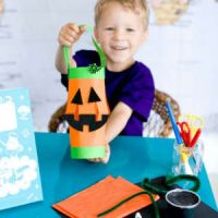 Jack O'Lantern Craft Box